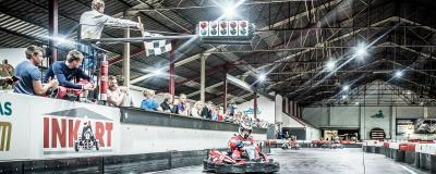 Finish of your karting Grand Prix