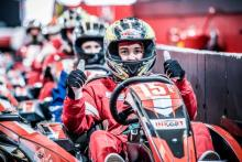 Close Racing met Junior karts